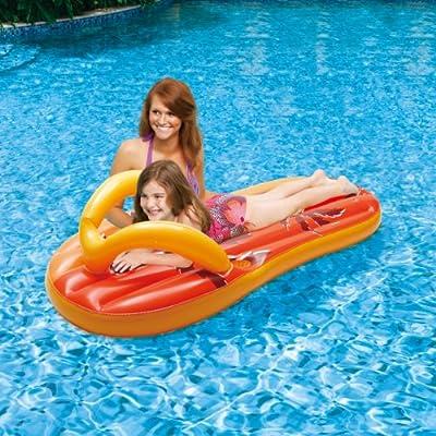 Blue Wave Tropical Flip Flop Inflatable Pool Float, 71