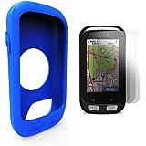 TUSITA Silicone Case Cover + 3Screen Protector + 1Lanyard For Garmin Edge 1000/Approach G8 GPS Bike computer