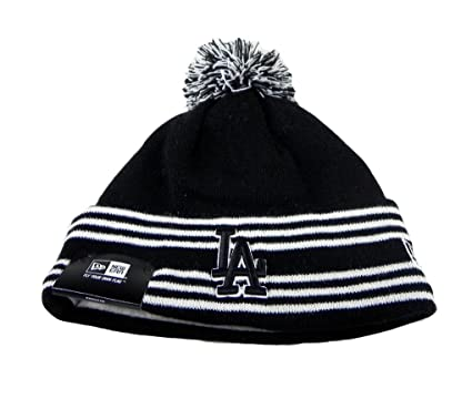 f6e24d17ef0 Image Unavailable. Image not available for. Color  New Era Los Angeles  Dodgers Beanie ...