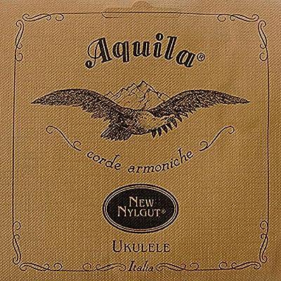 Aquila AQ-4 Soprano Regular Set High G Ukulele String Packs from Aquila
