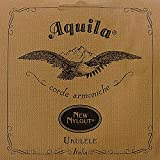 Aquila New Nylgut AQ-26 Baritone Ukulele Strings - Low D - 1 Set of 8