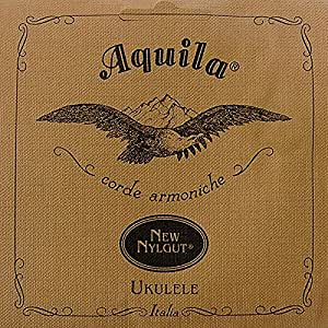 Aquila New Nylgut AQ-11 Tenor Ukulele Strings - High D & DGBE - Set of 4 Strings
