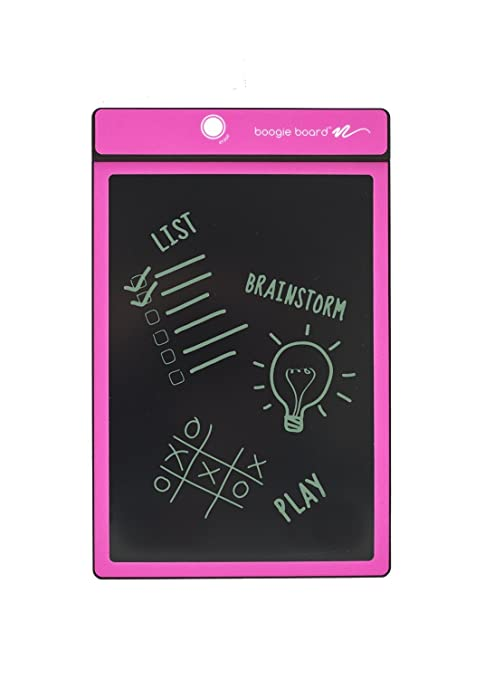 Amazon Boogie Board 4040Inch LCD Writing TabletPink Awesome Boogie Board Memo