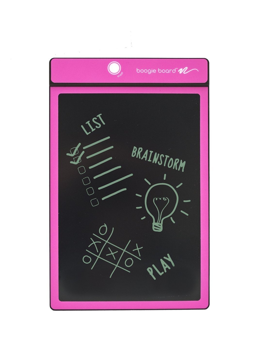 Boogie Board 8.5-Inch LCD Writing Tablet,Pink (PT01085PNKA0002)