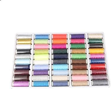 Hilo de coser para máquina de coser de 50 colores cada juego de ...