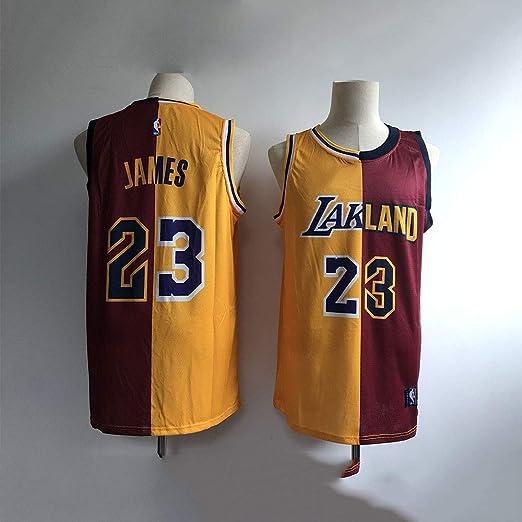 LHDDD NBA Baloncesto Uniformes Jersey Knight Lakers 23º ...
