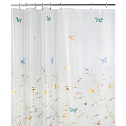 Maytex Garden Flight PEVA Shower CurtainButterfly Multi
