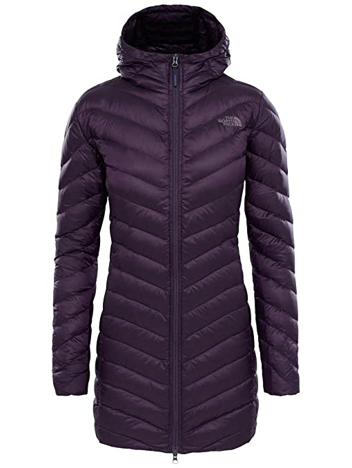 213b402625e0 The North Face Trevail Women s Outdoor Parka Jacket available in Dark  Eggplant Purple - Small