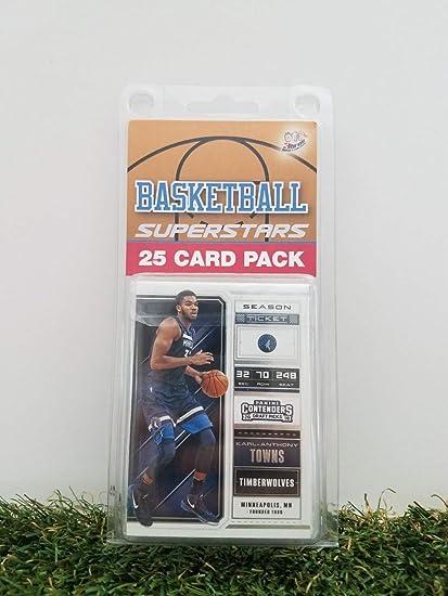 Minnesota Timberwolves 25 Card Pack Nba Basketball Different