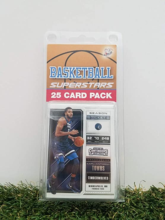 Minnesota Timberwolves 25 Card Pack Nba Basketball Different