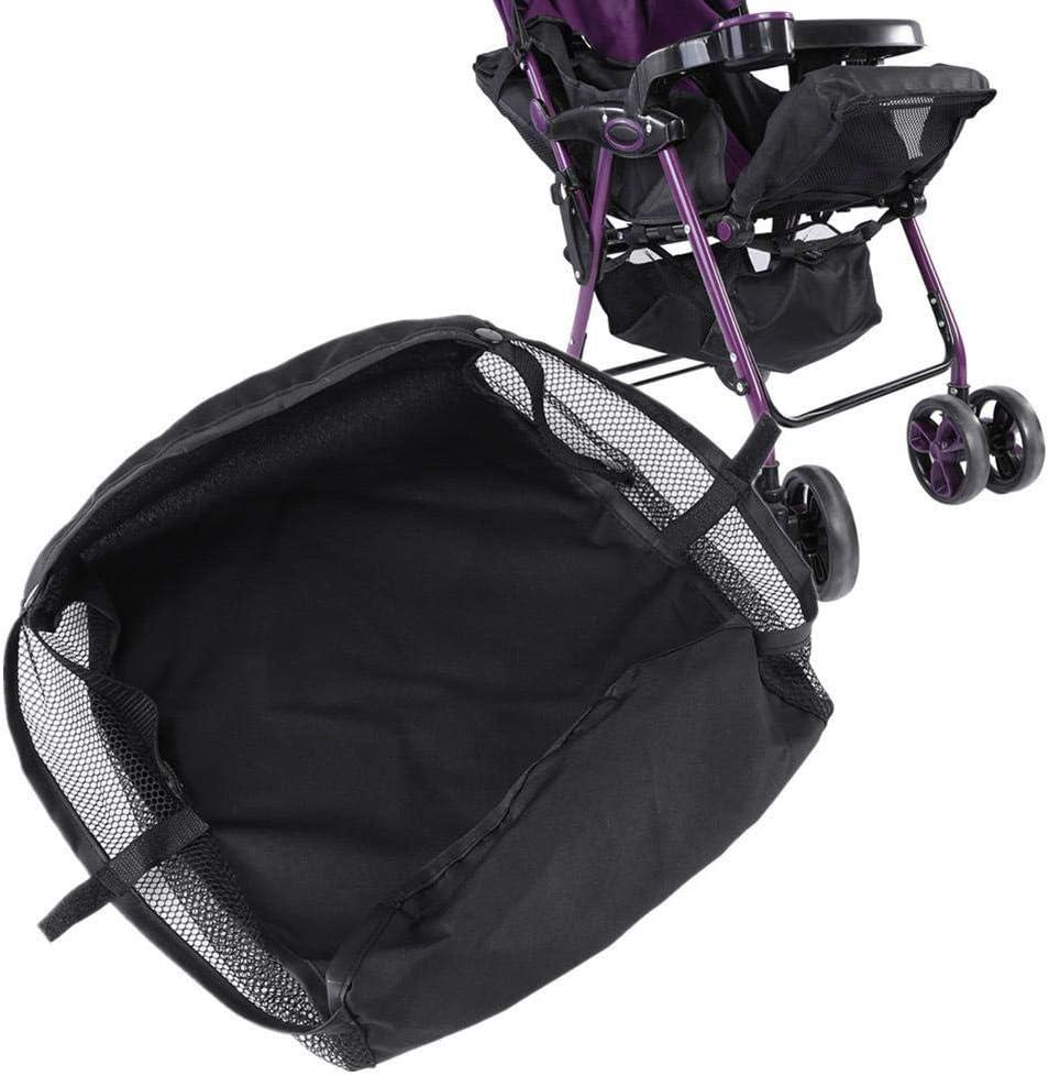 Wytino Pram Basket,1Pc Child troller Pram Bottom Basket Pushchair Buggy Shopping Storage Case Organizer Bag