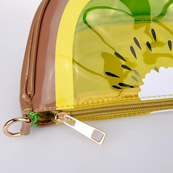 69073903a297 QZUnique Women's PU & Transparent Medium Cute Fruit Style Handbag ...