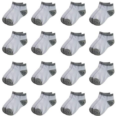 16 Pack Low Cut Ankle Socks Boys Girls Baby Toddler Socks Toddler Baby Socks