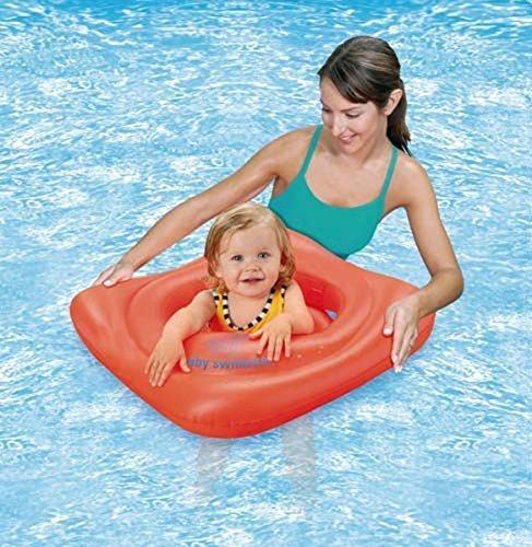 Bema Schwimmen Aqua Sport Babies & Kleinkinder Training Aufblasbar Schwimmen-sitz Orange