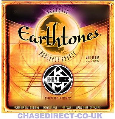 Cuerdas de Guitarra Acústica Kerly Earthtones larga vida con ...