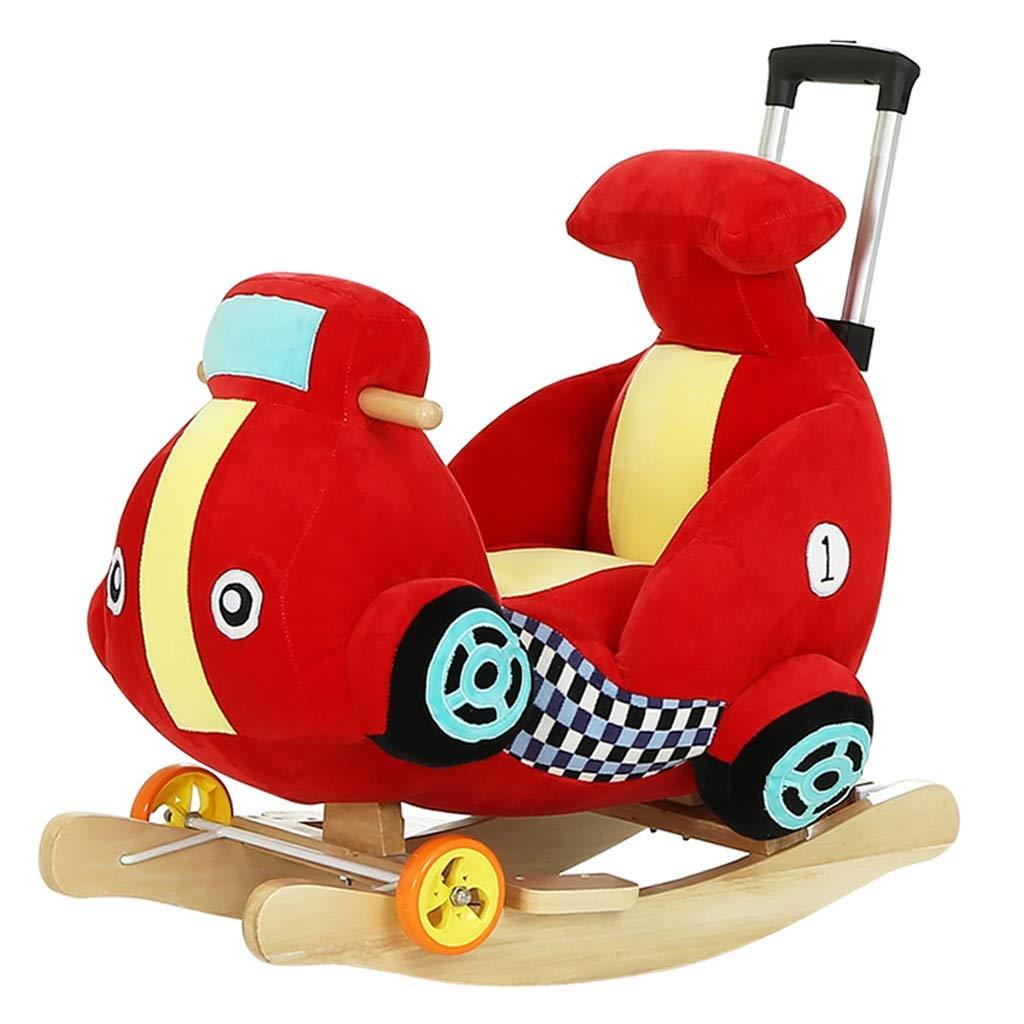 Cavallo a dondolo QIQIDEDIAN Giocattolo per Bambini a Dondolo per Bambini Cavallo per Bebè per Bambini Cavallo per Neonati Regalo di Compleanno