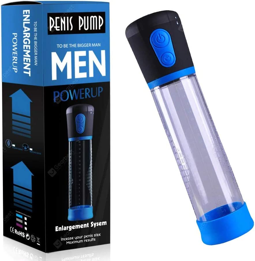 Vacuum Pump for Men with 3 Suction Speeds Vacuum Physical Helping Stronger and Health