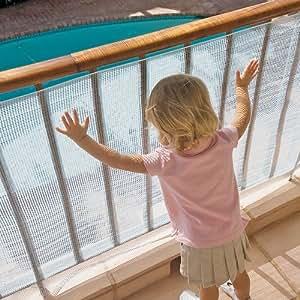 No-Climb Deck Guard Clear