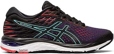 Asics Gel-cumulus 21 - Zapatillas de running para mujer, Mujer, negro y rosa, 40 EU: Amazon.es: Zapatos y complementos
