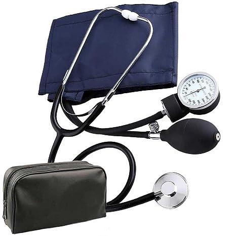 mentalshop Medidor de presión de Bomba Tensiómetro de Brazo Presión Arterial