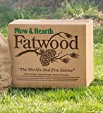 Fatwood 50 LB Box Fire Starter All Natural Organic Resin Rich Eco Friendly Kindling Sticks for Wood Stoves, Fireplaces, Campfires, Fire Pits, Burns Quickly and Easily, Safe and Non Toxic