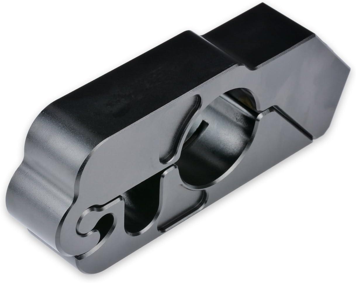 TUINCYN Moto Guidon Levier de Frein Noir Serrure en Aluminium CNC Universel Moto Antivol Dispositif antivol S/écurit/é Caps Lock /¨ avec 2 Cl/és