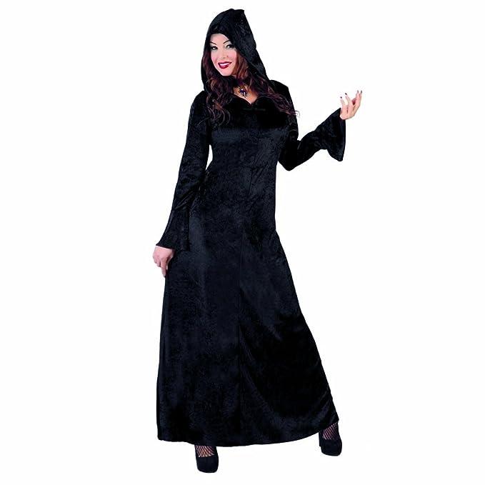 Amakando Caracterización Medieval con capuchón Vestido ...