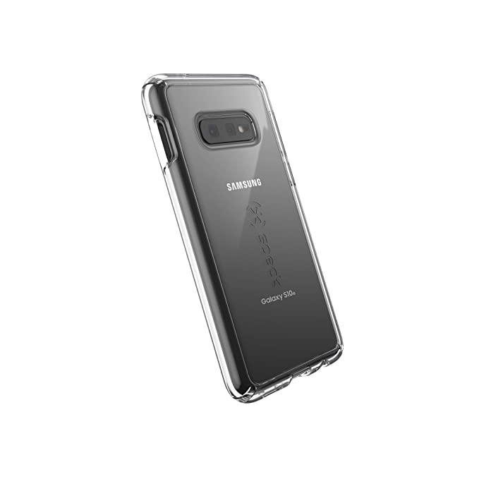 best cheap 9a434 78015 Speck Products GemShell Samsung Galaxy S10e Case, Clear/Clear