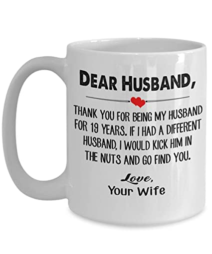 Amazoncom 19 Year Wedding Anniversary 19th Anniversary Gift For