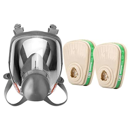 Spray Paint Mask >> Gas Mask Silicone Full Face Mask For Spray Paint Dust