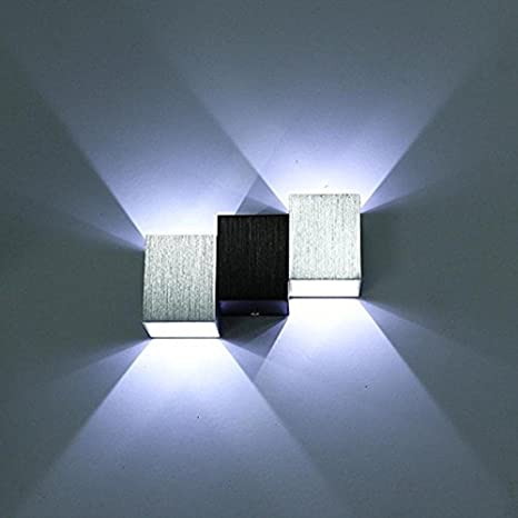 Glighone Applique da Parete Interni Lampada a Muro Applique LED ...