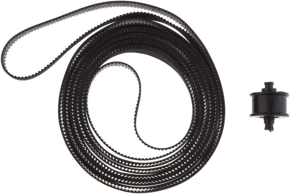 F Fityle Nuevo Plotter Carriage Drive Belt para HP DesignJet ...