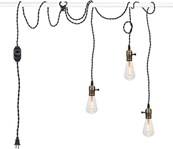 Seaside Village Vintage Pendant Light Kit Cord