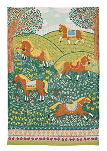 Ulster Weavers Hills & Tails Linen Tea Towel (Horse Tea)