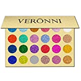 24 Colors Shimmer Glitter Eyeshadow Palette Natural Makeup Nude Matte Glitter Pigment Eye Shadow Pallete Waterproof Smokey Professional Cosmetic Beauty Kit Set