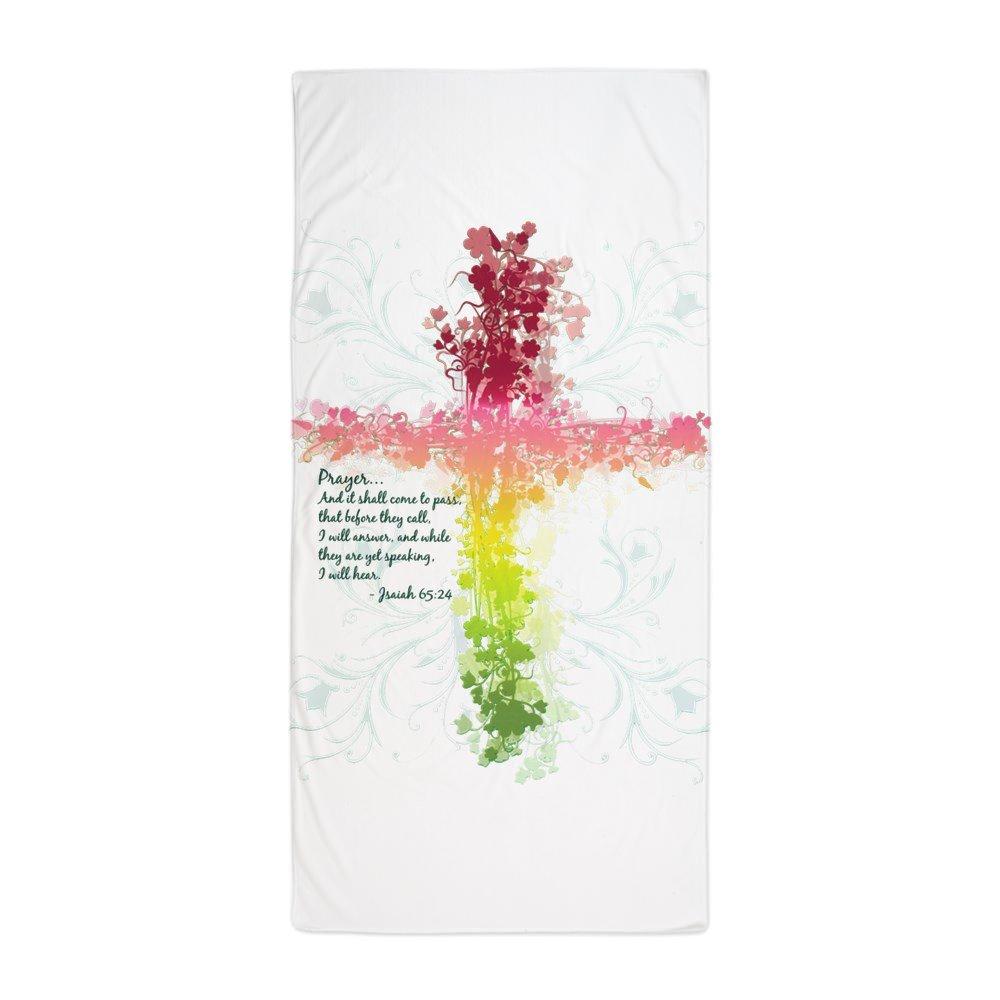 Royal Lion Beach Towel Christian Faith Bible Prayer Cross