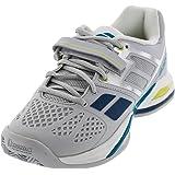Babolat Propulse Bpm All Court Mens Tennis Shoes (Grey/Blue) (8 D(M) US)