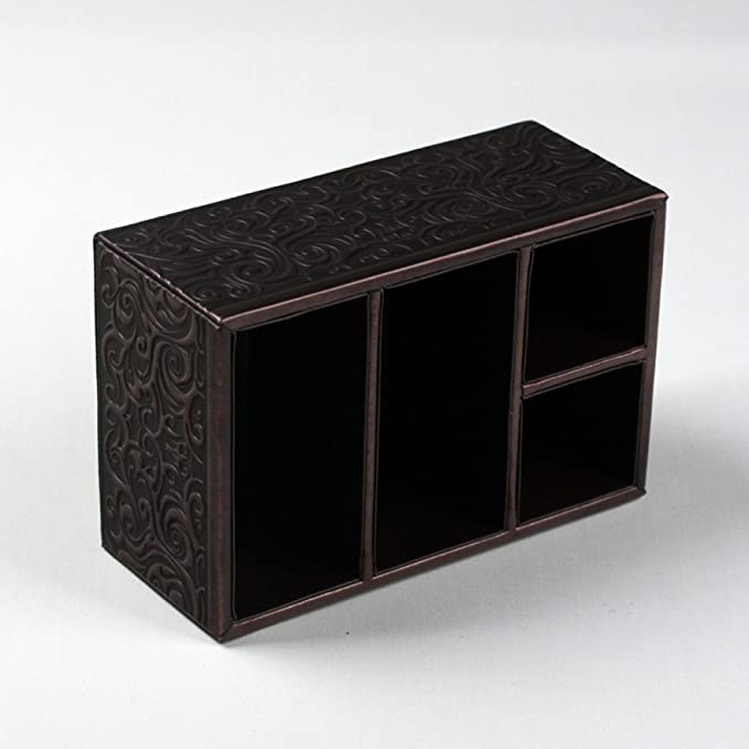 Artículos para el hogar FW FW Caja de Almacenamiento Caja de Almacenamiento casera Creativa Serie Noble Antigua Caja de Almacenamiento de Bronce Rectangular ...