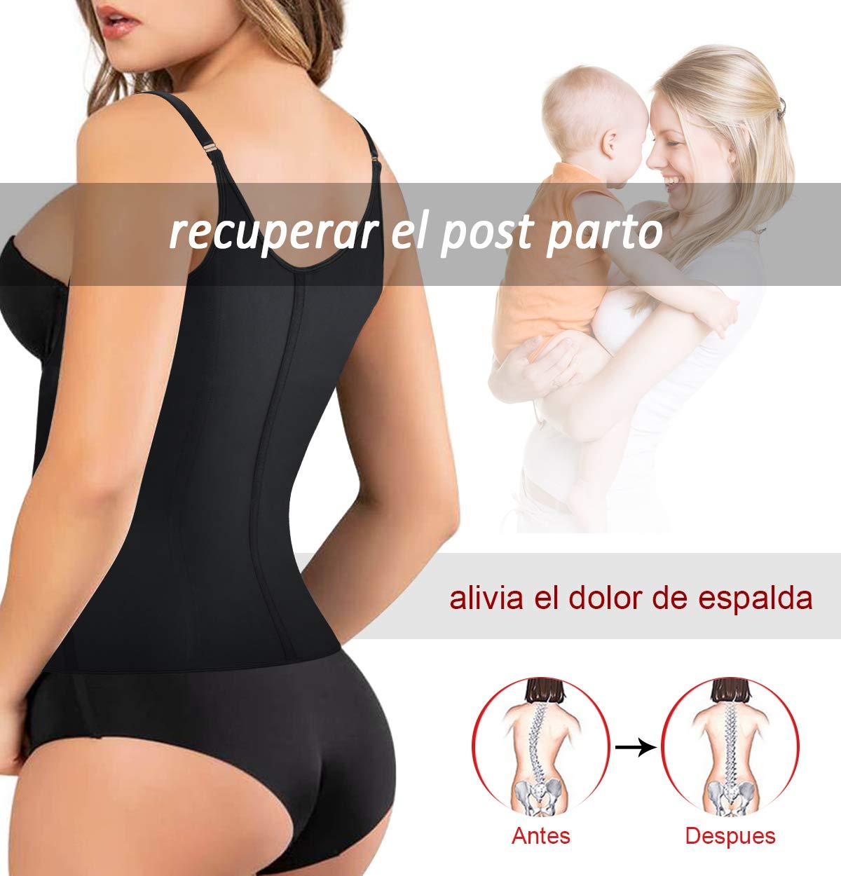 LaLaAreal Fajas Reductoras Corset Cincher Bustiers Cors/é Adelgazantes de Cintur/ón Formaci/ón para Body Shaper Mujer