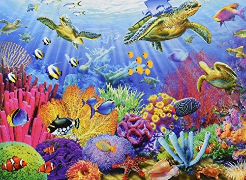 Ravensburger Tropical Waters Puzzle 500 Piece Kizozo