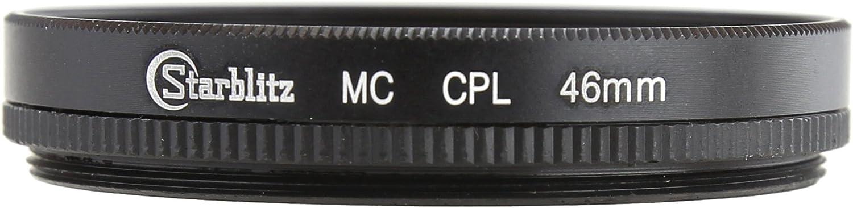 Black STARBLITZ sficplmc46/52/mm Multi-Coated Circular Polarizer Filter for 46/mm Lens