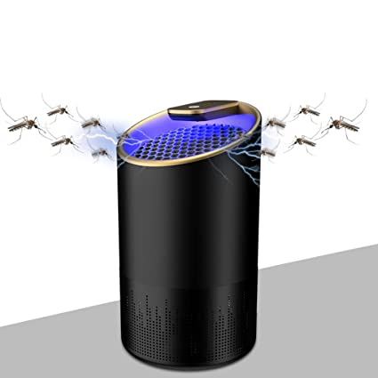 Repellents Pest Control Electric Mosquito Killer Lamp Fly Bug Zapper Mosquito Repellent Insect Trap Pest Control Photocatalysis Mute Mosquitoes Killer L