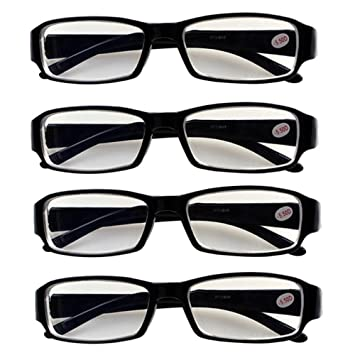08262df8f9 Image Unavailable. Image not available for. Color  4 PRS Nearsighted  Shortsighted Myopia Glasses ...