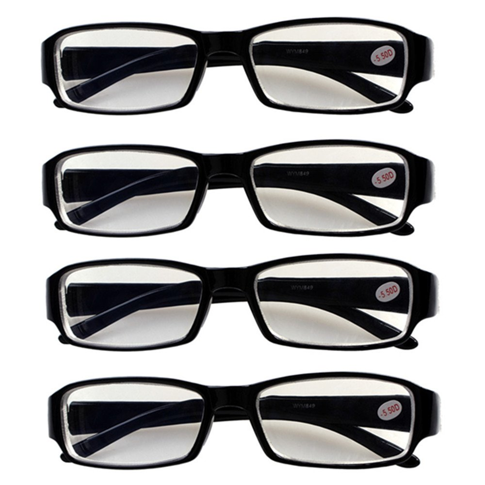 e6ec129bf6 4 PRS Nearsighted Shortsighted Myopia Glasses -1.00 Strength New!   These  are not