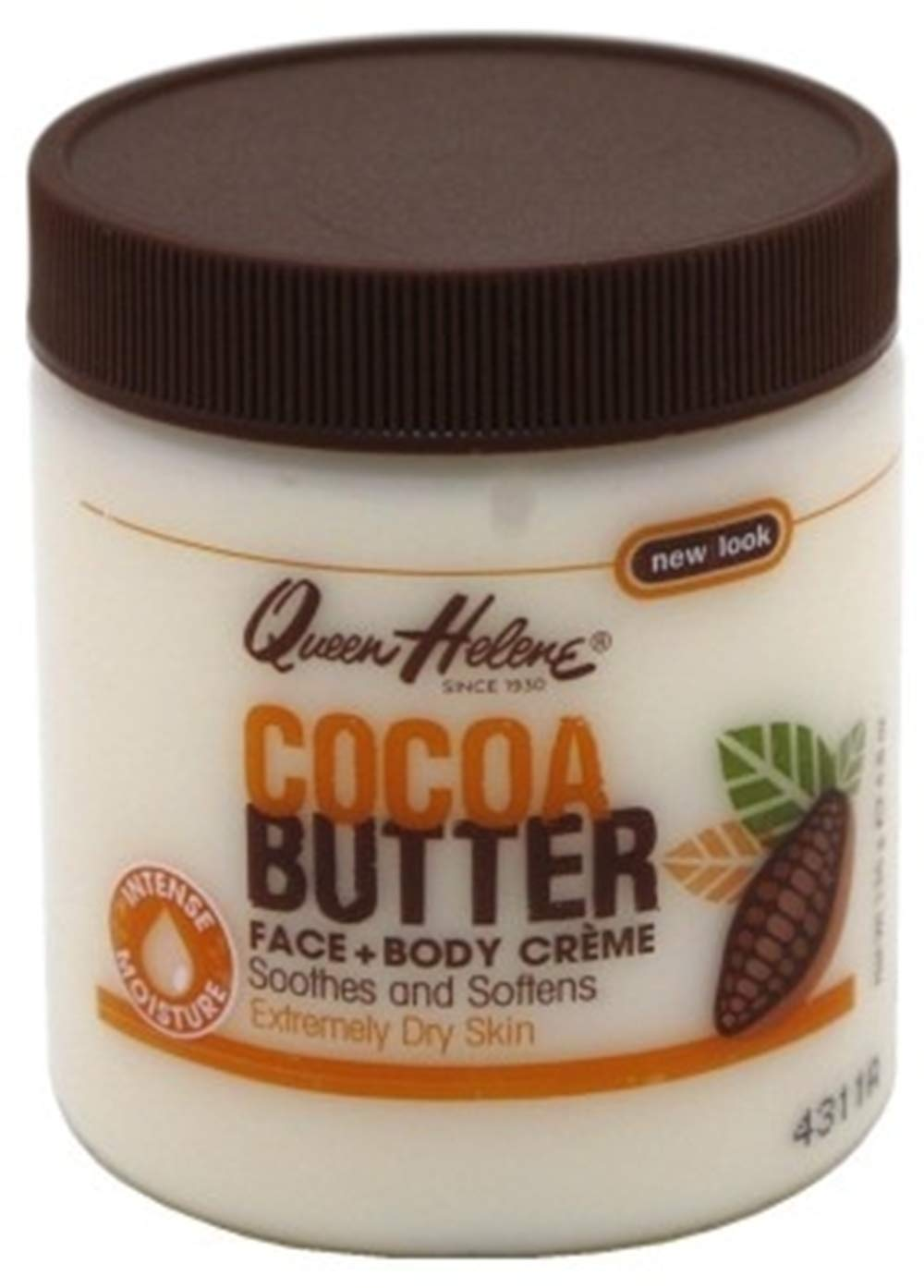 QUEEN HELENE Cocoa Butter Creme 4.8 oz (Pack of 2) by Queen Helene