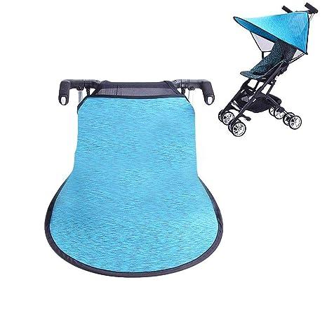Bloomma Portátil Parasol Protector contra Sol Lycra Anti-UV Sombrilla Cobertura Universal para Silla de