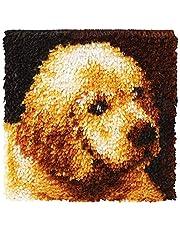 Wonderart Latch Hook Kit - Puppy Love