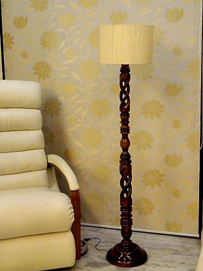 Tu Casa LG-860 220-Watt Floor Lamp (Off-White) Standing Lights at amazon