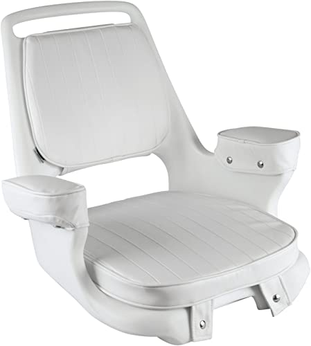 Captain Arm Chair with Cushions and Mounting Plate [Wise]  detail review