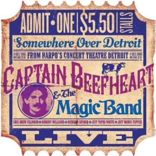 CD : Captain Beefheart - Harpos Detroit Dec 11th 1980 (CD)